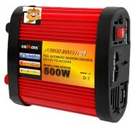 12V-220V Power Inverter 500W s kábelmi a ochranoul