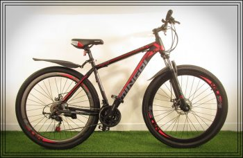 "MINGDI 29"" man bike black-red"